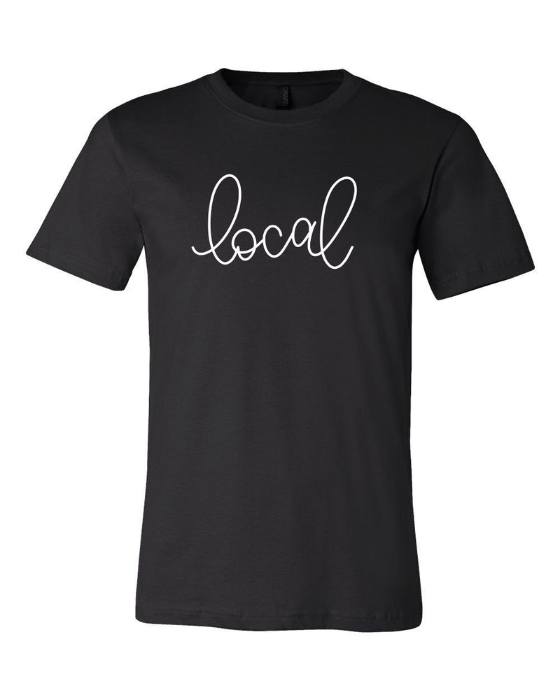 Local T-shirt in Black or Mauve