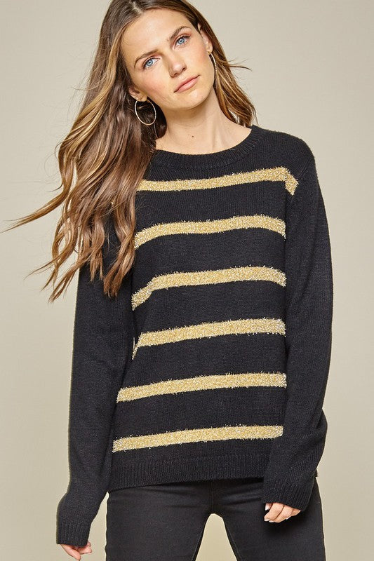 Tinsel Gold Sweater