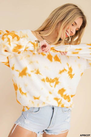 Veronica Cotton Tie Dyed Sweater