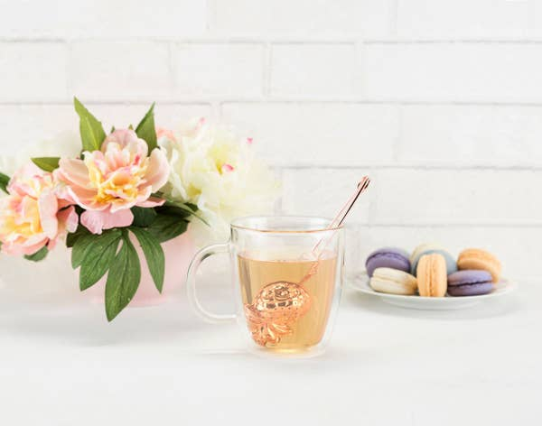 Rose Gold Pineapple Tea Infuser