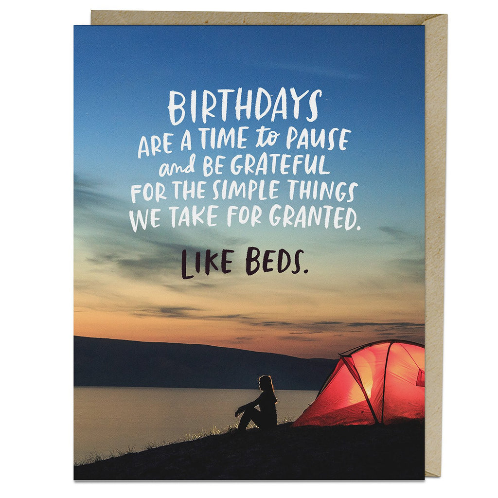 Simple Things Birthday Card