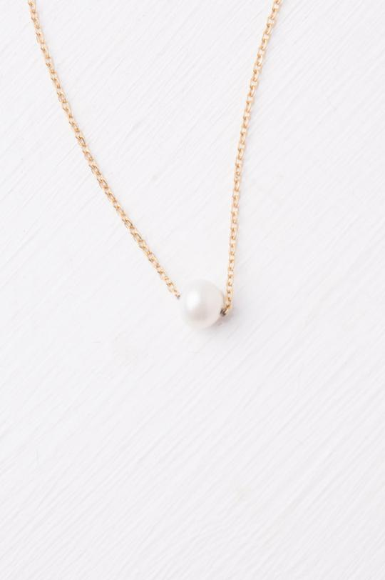 Katherine Gold and Pearl Necklace