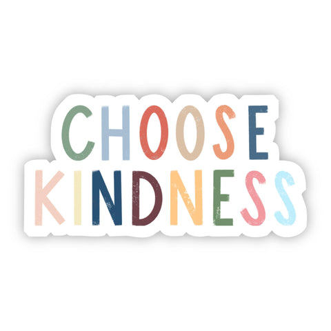 Choose Gratitude Vinyl Sticker