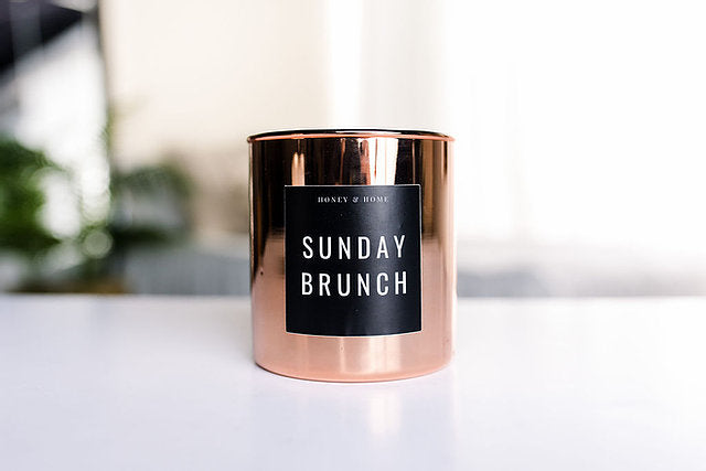 Sunday Brunch Candle in Classic or Rose Luxe