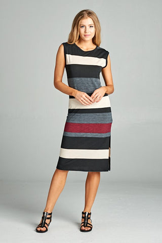 Yarn Dyed Stripe Dress
