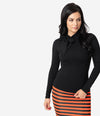 Colorblock Striped Pullover