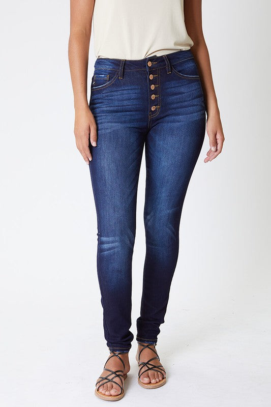 High Rise Curvy Fit Jeans