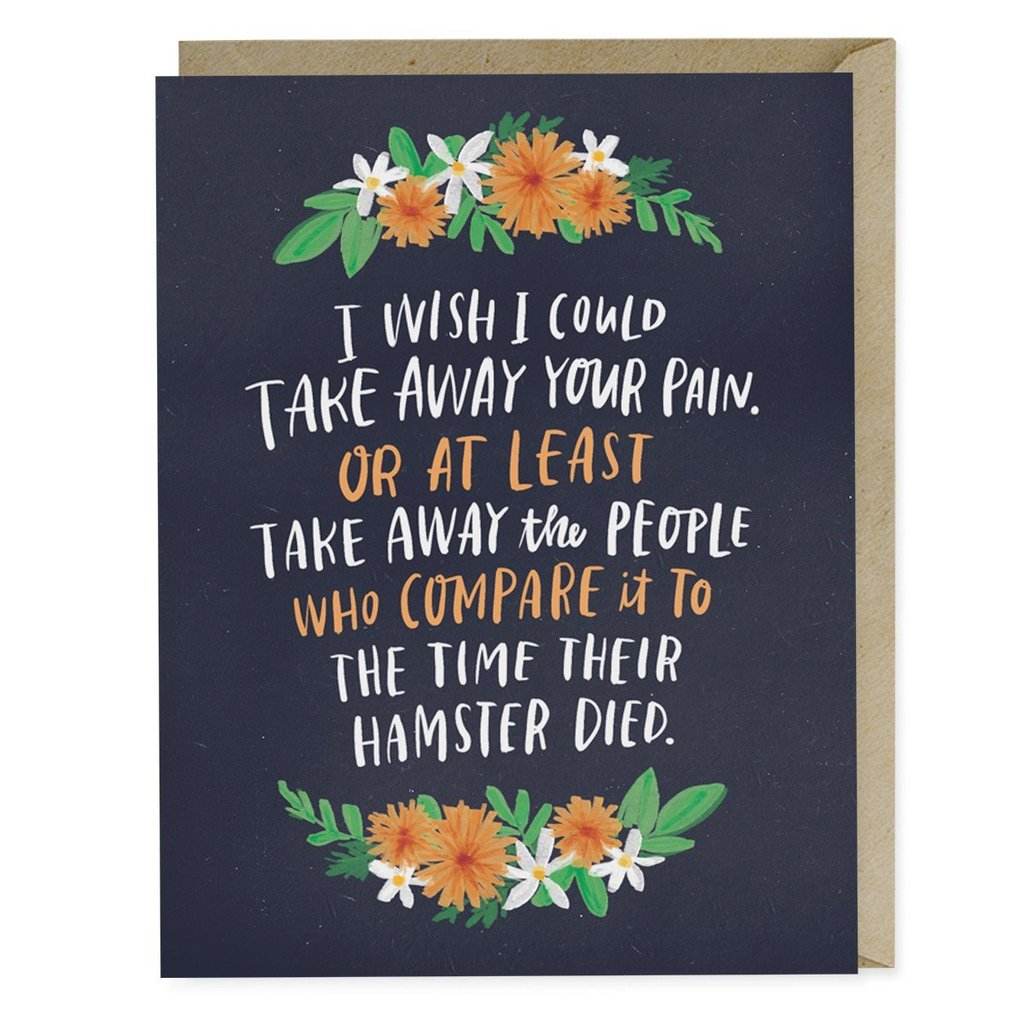 Take Away Pain Greeting Card