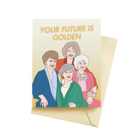 Show Up Breathe Greeting Card