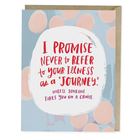 Illness Journey Greeting Card