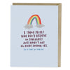 I Love You But There's No Money In Here Greeting Card