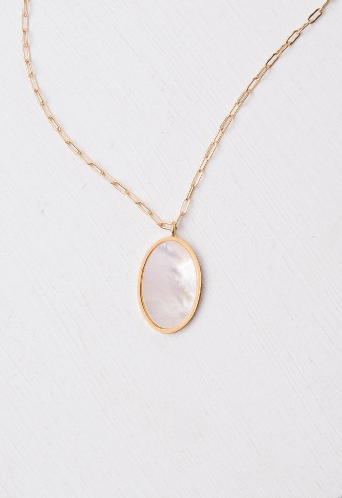 Hope Mother of Pearl Necklace