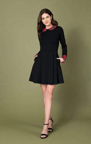 1950's Front Twist Bell Workwear Dress