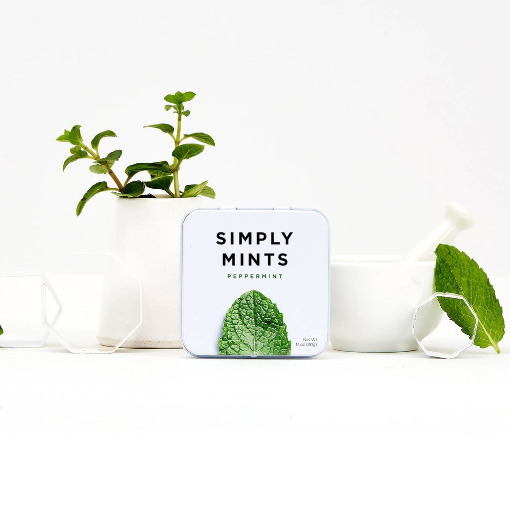 Simply Mints in Various Flavors