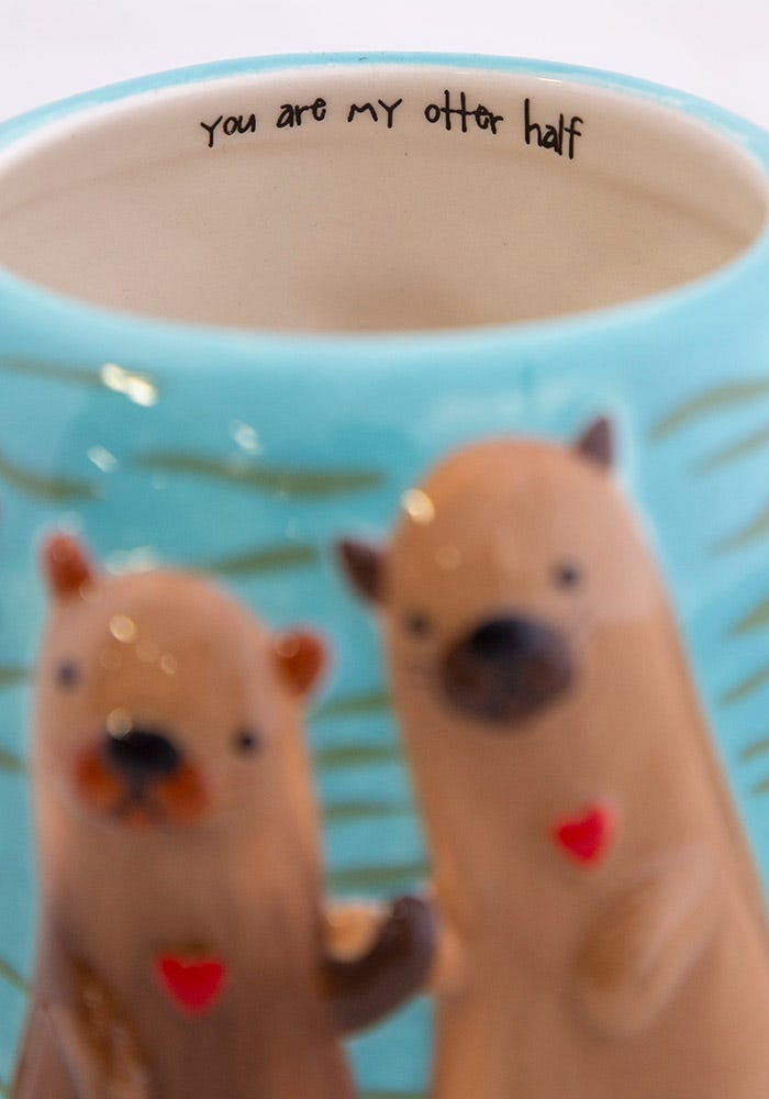 You Are My Otter Half Mug