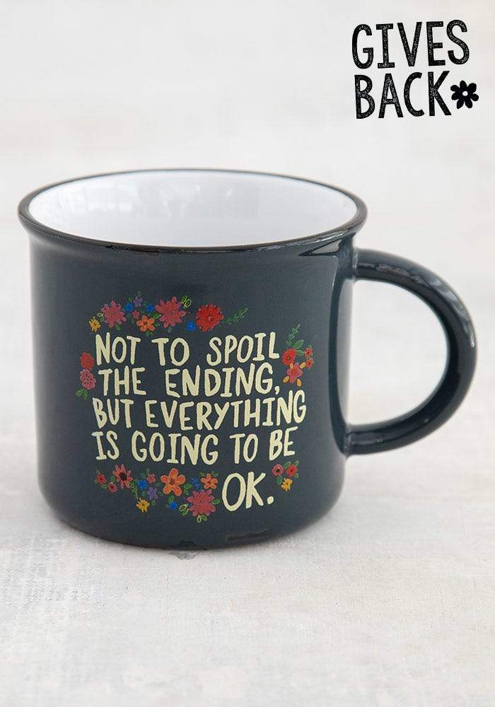 Everything Will Be Okay Camp Mug