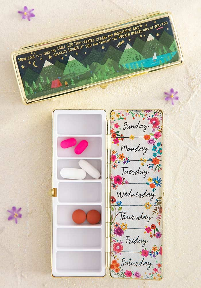 How Cool Is God Daily Pill Box
