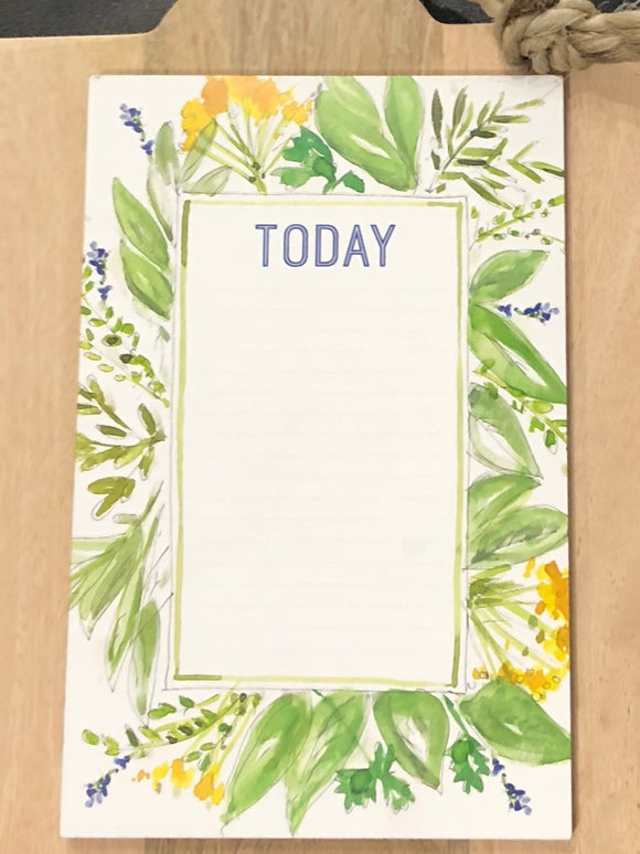 Herb + Wildflower Notepad