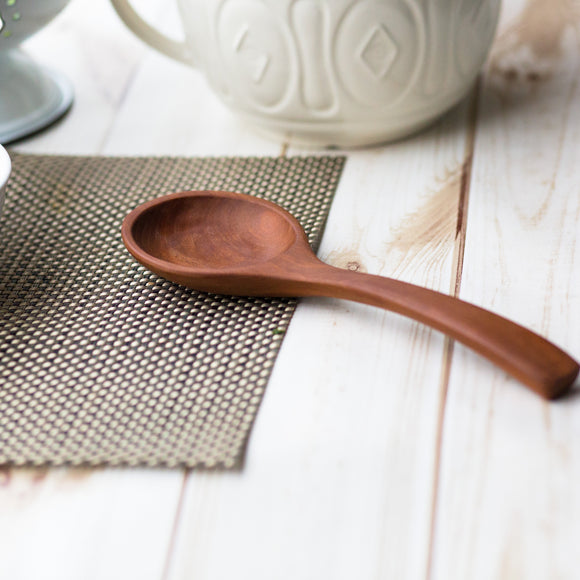 Handcrafted Big Mouth Serving Spoon