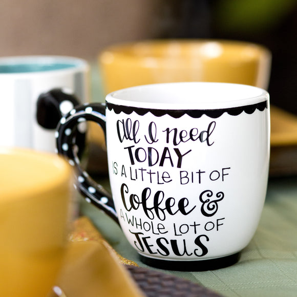 Coffee and Jesus Mug