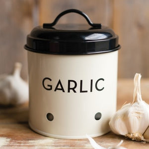 Ivory Garlic Tin