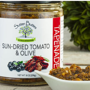 Sun Dried Tomato and Olive Tapenade