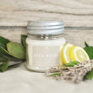 Back Roads 8 oz. Mason Jar Candle