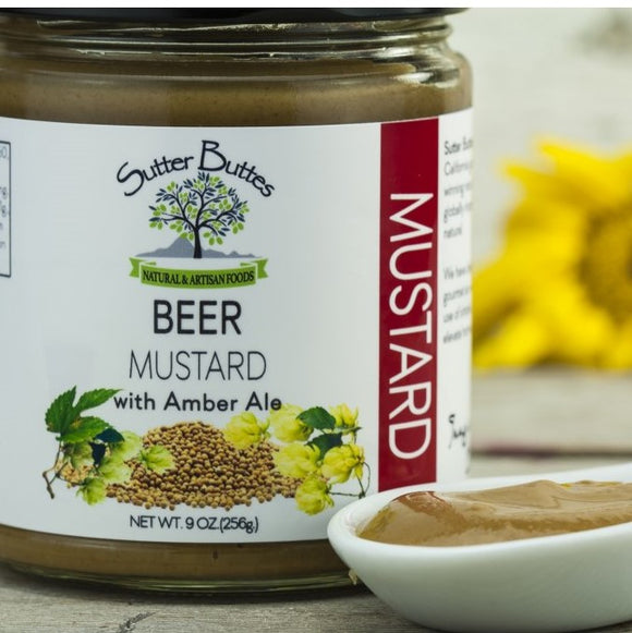 Beer Mustard with Amber Ale
