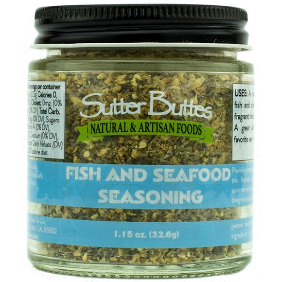 Fish and Seafood Seasoning