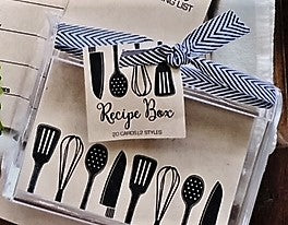 Kraft Utensils Recipe Box