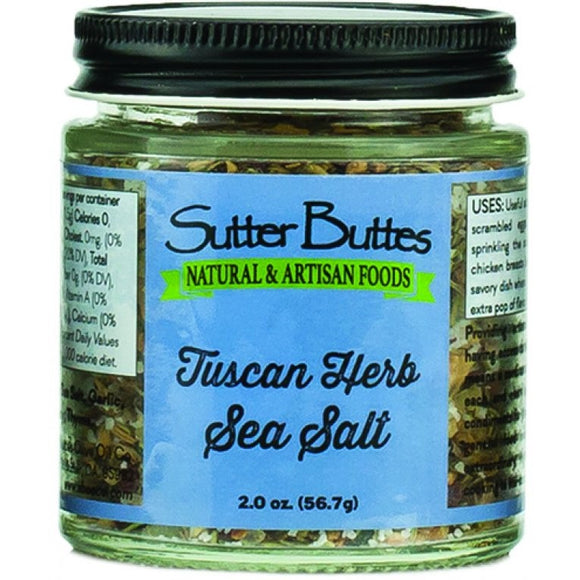 Tuscan Herb Sea Salt