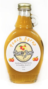 Peach Syrup 8 oz
