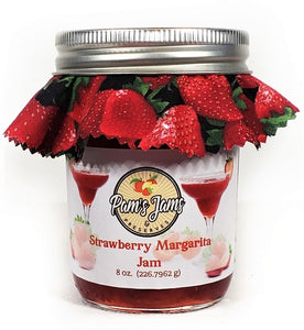 Strawberry Margarita Jam  8 oz.