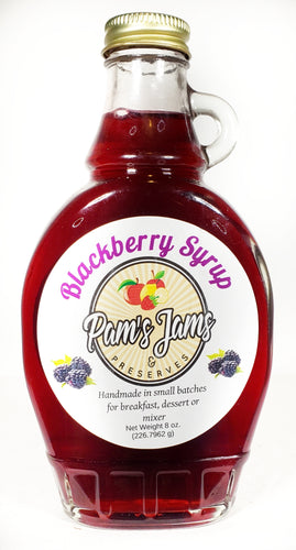 Blackberry Syrup 8 oz.