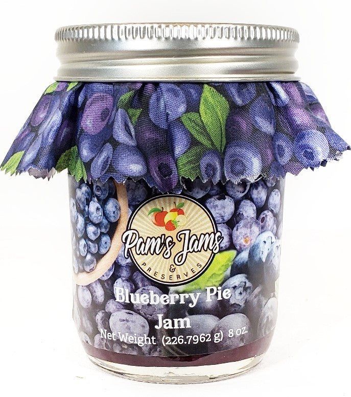 Blueberry Pie Jam  8 oz.
