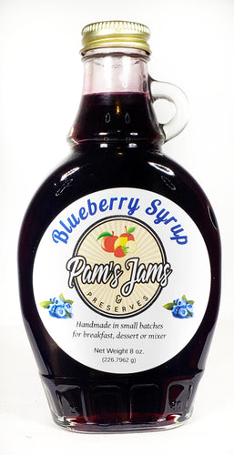 Blueberry Syrup 8 oz.