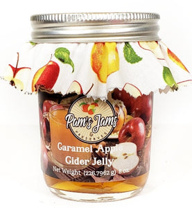 Caramel Apple Cider Jelly  8 oz.