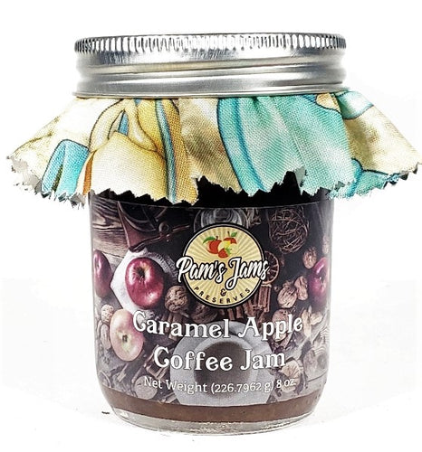 Caramel Apple Coffee Jam  8 oz.
