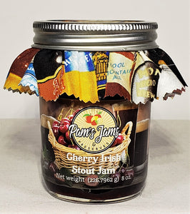 Cherry Irish Stout Jam 8 oz.