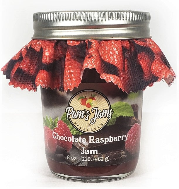 Chocolate Raspberry Jam  8 oz.