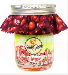 Cranberry Pomegranate Jelly 8 oz.