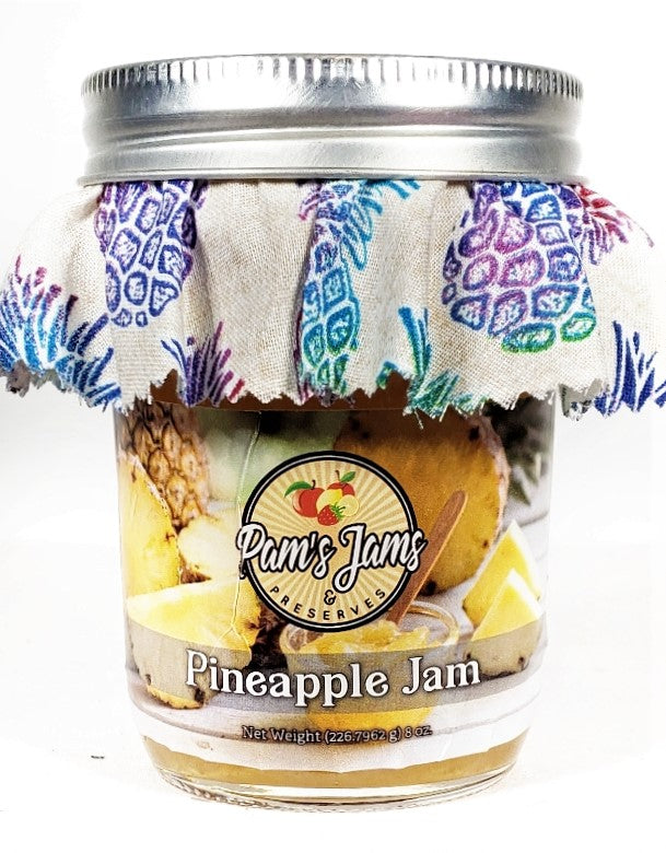 Pineapple Jam 8 oz.