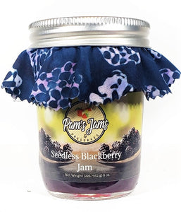 Seedless Blackberry Jam 8 oz.