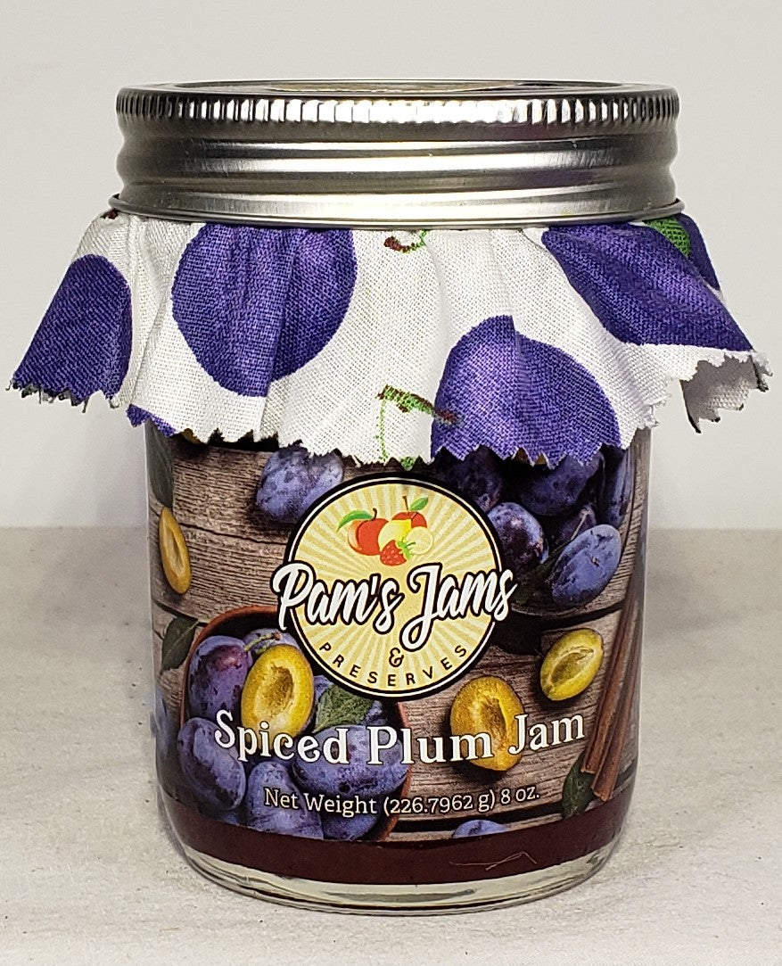 Spiced Plum Jam 8 oz
