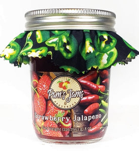 Strawberry Jalapeno Jams 8 oz.
