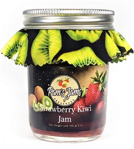 Strawberry Kiwi Jam 8 oz