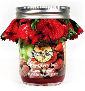 Strawberry Jam - Low Sugar 8 oz.