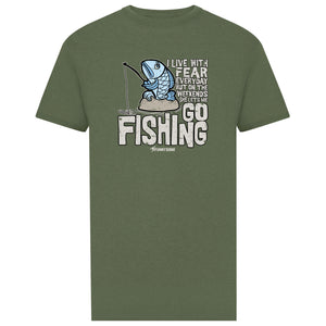 Go Fishing - Light Green