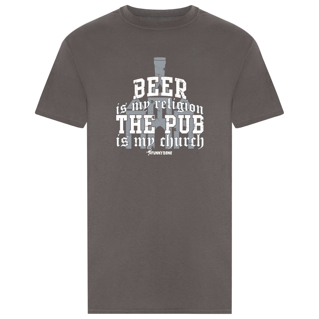 Beer Is My Religion -  Grey