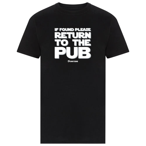 Return To The Pub - Black